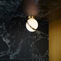 Светильник потолочный Crescent Ceiling Light  Ли Брум золотой