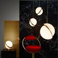 Светильник Crescent Ceiling Light  Lee Broоm золото в интерьере
