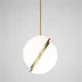 Светильник Crescent Light by Lee Broоm D25 золото