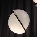 Светильник Ли Брум рассеченный пополам плафон  D30 хром