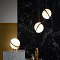 лампа настольная Crescent Table Lamp by Lee Broоm золото
