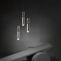Светильник Fulcrum Light 3 Ли Брум хром в интерьере