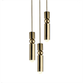 Fulcrum Light 3 by Lee Broоm Gold