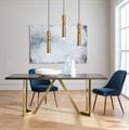Светильник Fulcrum Light 3  Ли Брум золото в дизайн проекте