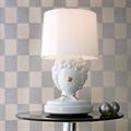 Лампа настольная белый клоун в интерьере Clown 3 by Jaime Hayon