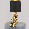 Лампа настольная Clown 2 by Jaime Hayon золотой клоун