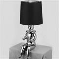 Лампа настольная Clown 1  Jaime Hayon хромированный сидящий человек