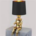 Лампа настольная Clown 1  Jaime Hayon золотой сидящий человек