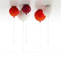 Brokis Memory светильник как воздушный шарик на веревочке  оранжевый D30