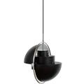 светильник Губы  черный меняет форму