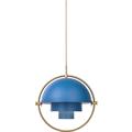 светильник Губы Multi-lite синий золото