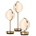 Настольная лампа Орион Барончелли круглый плафон