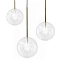 Светильник подвесной  Bolle Sola L  стеклянный прозрачный плафон