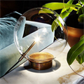 Лампа настольная  Bolle Tavolo 1 круглая прозрачная