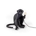 Seletti Monkey Black Table Lamp Настольная лампа Обезьяна