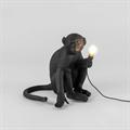 Настольная лампа Обезьяна черная