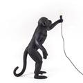 Seletti Торшер черная обезьяна