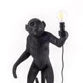 Seletti Торшер черная обезьяна туловище
