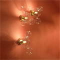 Настенный светильник Bolle Wall 04 Bubbles Giopato & Coombes в интерьере