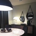 Светилник подвесной Flos Скайгарден черная  D90