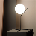 IC  Flos 1 высокая черная настольная лампа
