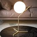 IC Lighting Flos  1 настольная лампа золото высокая