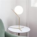 IC  Flos  1  настольная лампа белый шар на высокой ножке