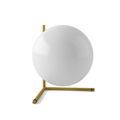 IC Lighting Flos Table 2 настольная лампа золотая