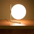 IC Lighting Flos Table 2  настольная лампа золото в интерьере