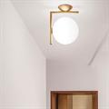 светильник IC Lighting Flos Wall 1 золото потолочный