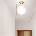 Светильник для прихожей дизайнерский IC  Flos Wall 2 золото