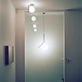 Светильник Flos IC Lighting S хром маленький в интерьере