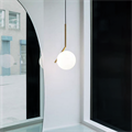 Светильник IC Lighting S Gold Pendant Lamp в стиле Flos Michael Anastassiades - фото 19755