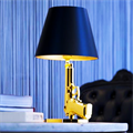 Настольная лампа Флос Филипп Старк золотой пистолет