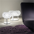 Лампа настольная Foscarini Caboche Clear D35 в интерьере