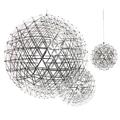 Люстра большая светодиодная Moooi Raimond Sphere D163 Chrome
