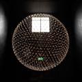 Люстра Moooi Raimond Sphere D163 как горит в темноте