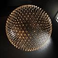 Люстра круглая много светодиодов Moooi Raimond Sphere D163 Chrome