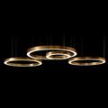 Люстра Хендж кольцо медь D80