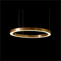 Модный светильник Henge Light Ring Horizontal D60 Copper