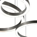 Люстра светодиодное кольцо Henge Light Ring  D90 никель