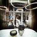 Люстра по дизайн проекту светодиодное кольцо Henge Light Ring Horizontal D50 бронза