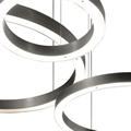 Люстра кольцо светодиодное Henge Light Ring Horizontal D100 никель