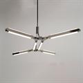 Светильник настенно-потолочный Pris Minor хром Pelle