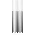 Vibia Slim 13 плафонов черный прямоугольное основание