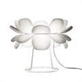 Лампа настольная SOHO Studio Infiori белые пластиковые лепестки