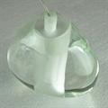 Mizu Pendant Single Light by Terzani прозрачный плафон