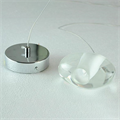 Mizu Pendant Single Light by Terzani хромированная площадка