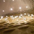 Светильник стеклянный прозрачный плафон Mizu  Terzani
