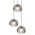 Mizu 3 Three Pendant Chandelier by Terzani
